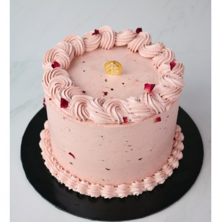 "Ms Dior Cake  5""(Raspberry Lychee Rose)"