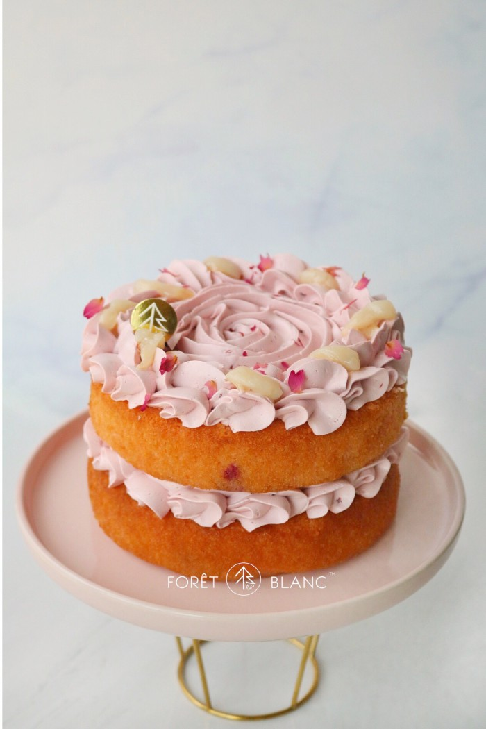 Ms Dior Cake (Raspberry Lychee Rose) (6 Inch)