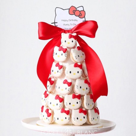 Hello Kitty Macaron Tower