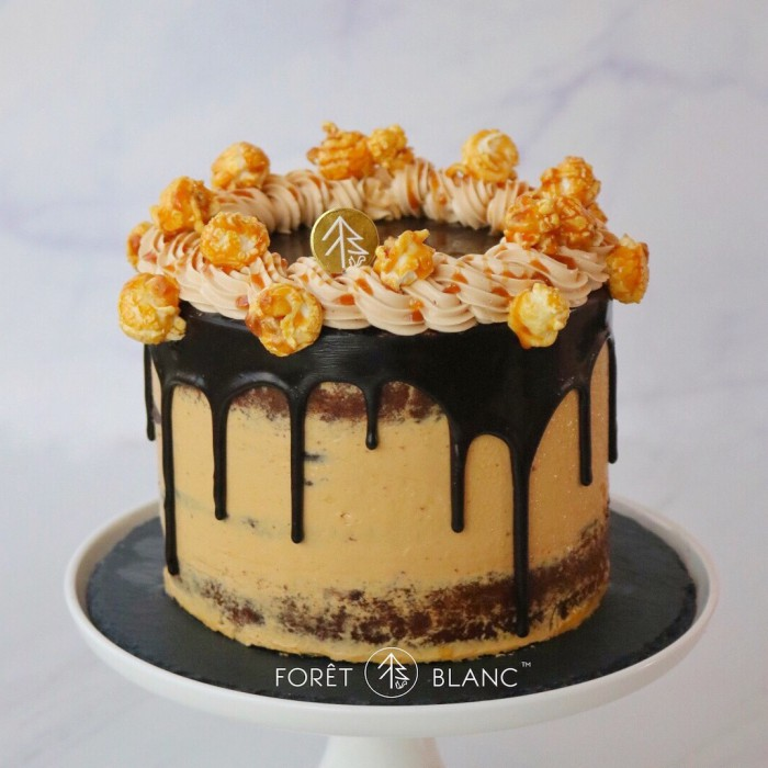 Chocolate Salted Caramel Drip Cake
