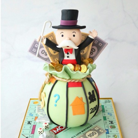 Monopoly Chocolate Pinata