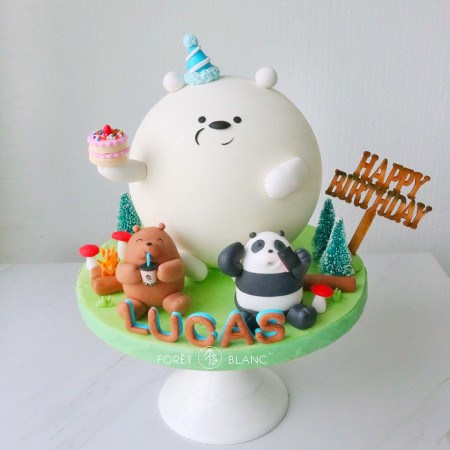We Bare Bear Chocolate Pinata