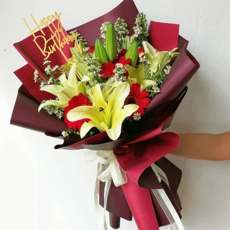 Lady Lily Bouquet