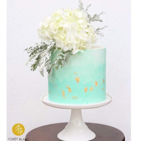 Whimsical Tiffany Cake
