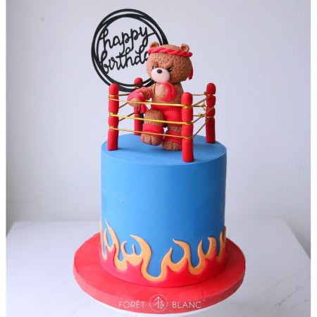 Muay Thai Bear Cake