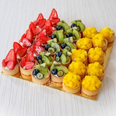 Mini Fruit Tart Set