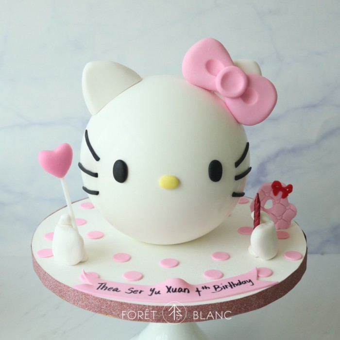 Hello Kitty with Pink Ribbon Chocolate Pinata