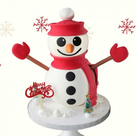 Frosty Snowman Chocolate Pinata
