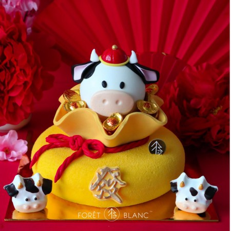Royal Moo Cheesecake + Moo Cow Pinata