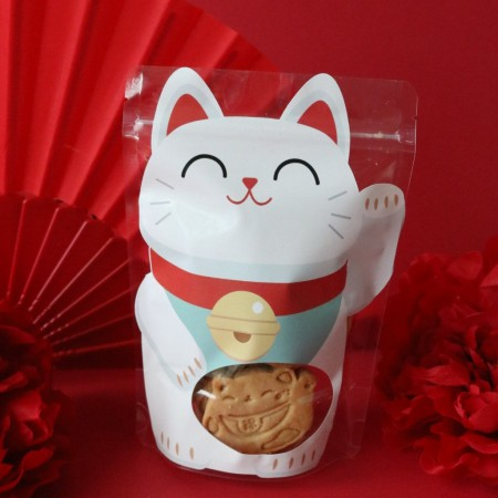 Neko Cat Fortune Honey Cookie